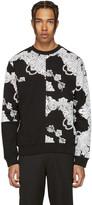McQ by Alexander McQueen Black Phoenix Paisley Clean Pullover