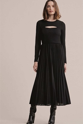 Witchery Split Front Jersey Dress