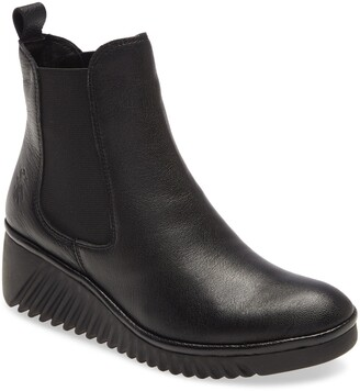 Fly London Lita Wedge Chelsea Boot