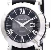 Tiffany & Co. Atlas Z1000.70.12A10A91A Automatic Rubber / Stainless Steel 42mm Mens Watch