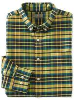 L.L. Bean Signature Washed Oxford Cloth Shirt, Plaid