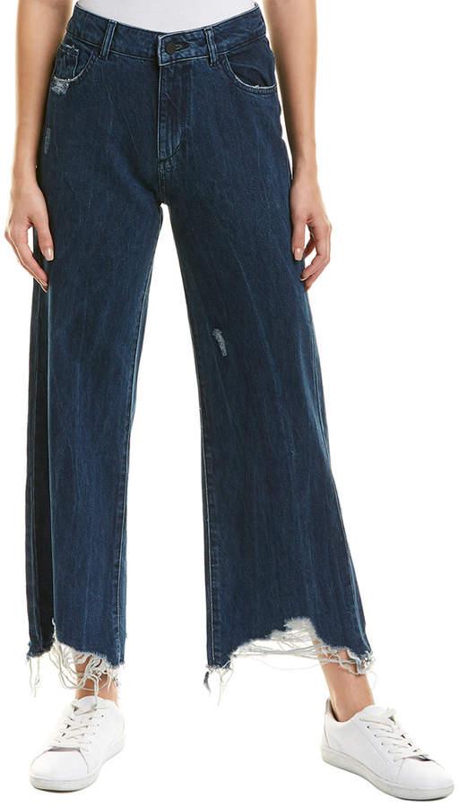 DL1961 Premium Denim Hepburn Industry High-Rise Flare Leg