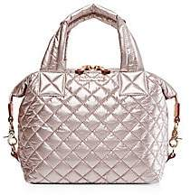 MZ Wallace Women's Small Sutton Quilted Nylon Satchel