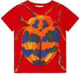Gucci Children's beetle print t-shirt