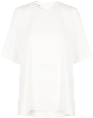 Co Structured Short Sleeve Top