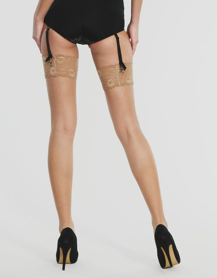 Figleaves Italian Hosiery 10 Denier Sheer Stockings