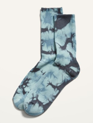 Old Navy Tie-Dyed Gender-Neutral Tube Socks for Adults