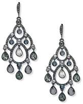 Givenchy Crystal Multicolored Open Chandelier Earrings