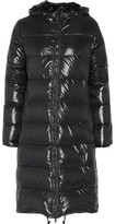 Duvetica Alia Quilted Shell Hooded Down Coat