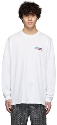 Doublet White Hidden Chaos Long Sleeve T-Shirt