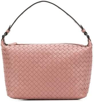 Bottega Veneta eyelet detail shoulder bag