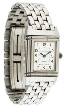 Jaeger-LeCoultre Reverso Duetto Watch w/ Mother of Pearl Dial