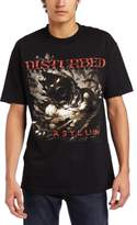Bravado Men's Disturbed Asylum Shred Men's T-Shirt