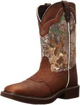 "Justin Boots Women's Gypsy Collection 12"", Aged Bark/Real Tree Camo"