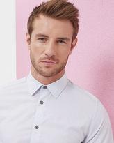 Ted Baker Floral jacquard cotton shirt
