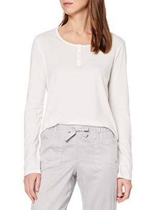 Marc O'Polo Body & Beach Women's Mix Shirt LS Henley Pyjama Top,UK