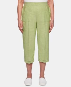 Alfred Dunner Santa Fe Utility-Pocket Capri Pants