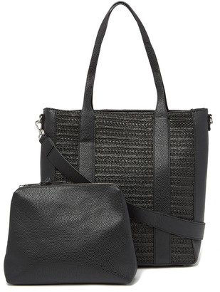 Steve Madden Maine Straw Tote