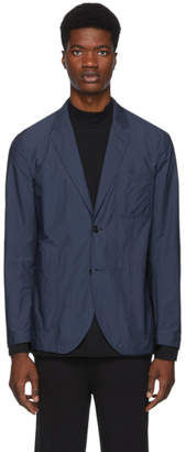 Tiger of Sweden SSENSE Exclusive Blue Shelland Blazer