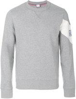 Moncler Gamme Bleu logo detail sweatshirt