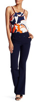 Trina Turk Front Button Side Zip Pant