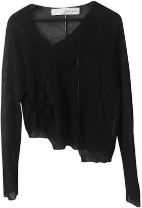 Isabel Benenato Black Linen Knitwear for Women