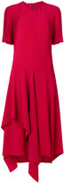 Stella McCartney asymmetric short sleeved dress