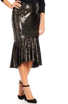 Gianni Bini Star Sequin Skirt