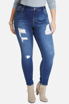 Fashion to Figure Mykonos Blue Five Pocket Jeans