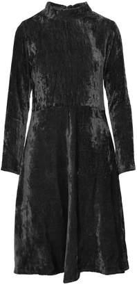 Imaima Delia Velvet Dress In Black