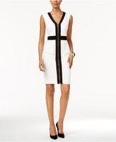 Thalia Sodi Colorblocked Peplum Sheath Dress, Only at Macy's