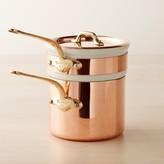Mauviel Copper Double Boiler