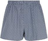 Sunspel Cotton Polka-Dot Boxer Shorts