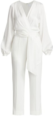 Jonathan Simkhai Piper Combo Wrap Jumpsuit