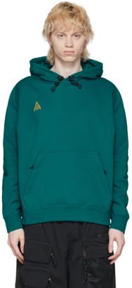 Nike ACG Green Pullover Hoodie