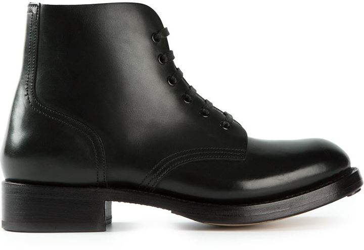 DSQUARED2 military style ankle boots