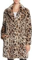 BB Dakota Rooney Faux-Fur Leopard Coat