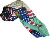 Asstd National Brand American Lifestyle Liberty Flag Tie