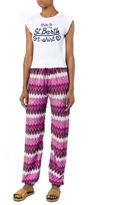 MC2 Saint Barth Chevron Crochet Pants