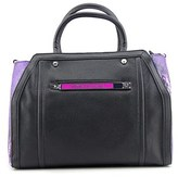 Versace E1vmbbz2 Women Leather Satchel.