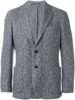 Eleventy patch pocket blazer - men - Cotton/Polyester/Acetate/Wool - 56