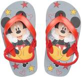 Disney Disney's Mickey Mouse Toddler Boy Red Thong Flip Flop Sandals