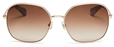 Kate Spade Carlisa Oversized Square Sunglasses, 59mm