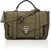 Proenza Schouler Women's PS1+ Medium Shoulder Bag-DARK GREEN
