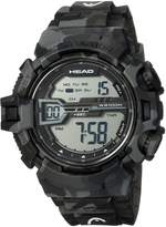 Head Men's 'Half Pipe' Quartz Resin and Rubber Casual Watch, Color: (Model: HE-106-01)