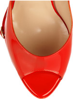 Nicholas Kirkwood Patent-leather wedge pumps