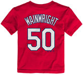 Majestic Toddlers' Adam Wainwright St. Louis Cardinals Player T-Shirt