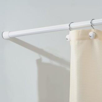 InterDesign Cameo Constant Tension Bathroom Shower Curtain Rod