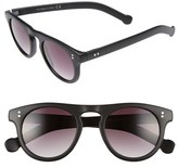 Topman 47mm Round Plastic Sunglasses