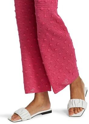 Alejandra Alonso Rojas Hand Knit Silk Pants
